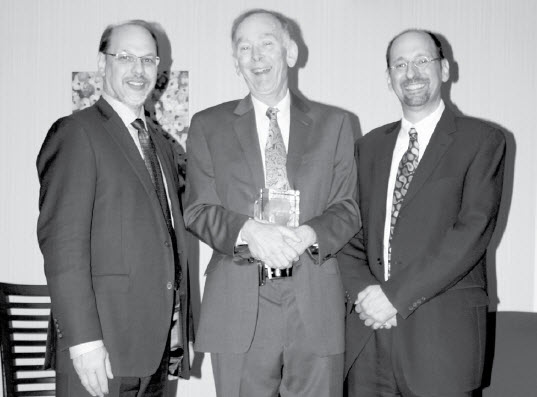 Mr. Howard Sapers, Mr. Graham Stewart (centre) and Dr. Ivan Zinger.  Description follows.