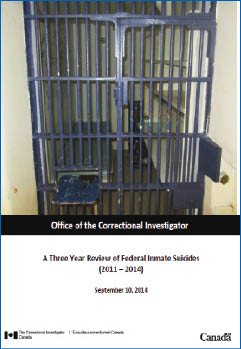 Annual Report of the Office of the Correctional Investigator