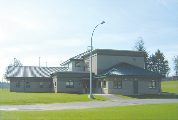 Photo of the Secure Unit at Fraser Valley Institution for federally sentenced women.