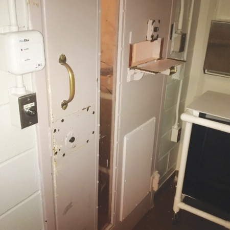 Photo of an Infirmary cell