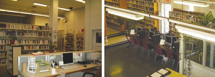 Photo of Institutional libraries