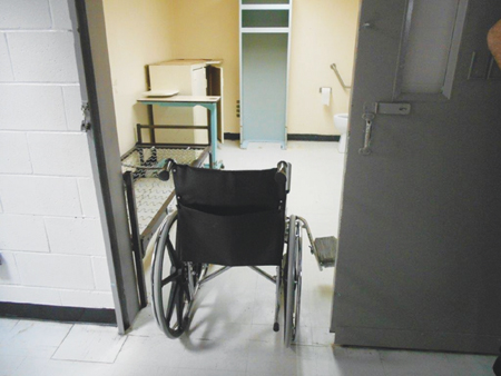Photo of a Wheelchair accessible cell