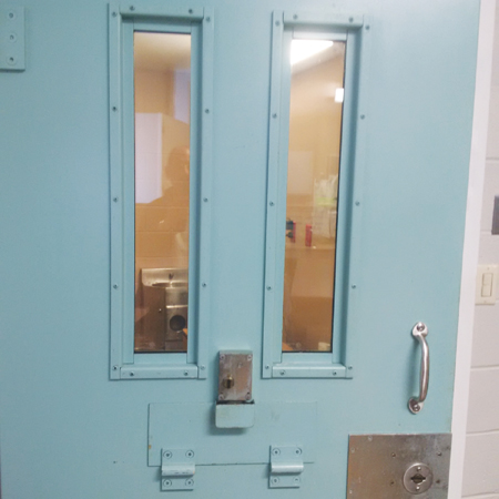 Photo of a Cell door