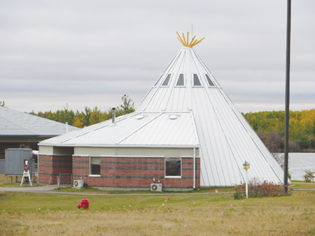 Photo of a Healing Lodge building