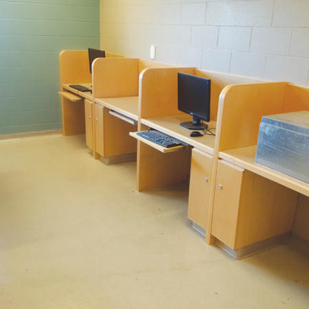 Photo of Computers for inmate use