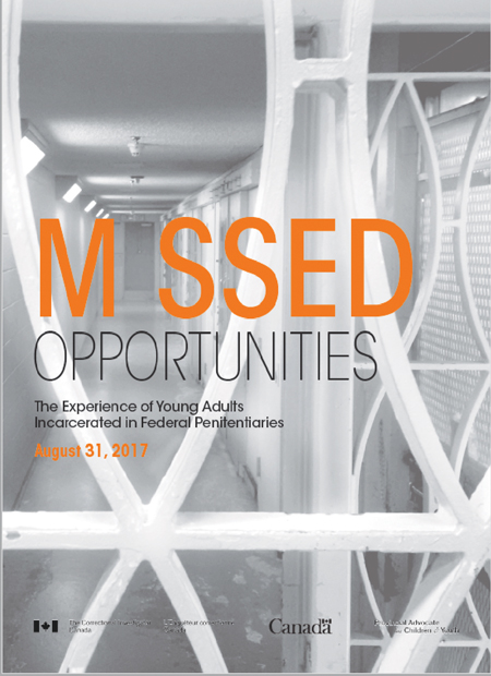 Photo of the Cover of Missed Opportunities report