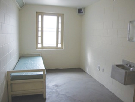 Photo of an Observation cell at a women's institution